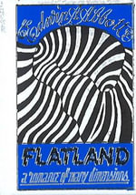 Flatland Minibook - Limited Gilt-Edged Edition - Edwin A. Abbott