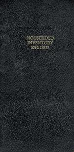 Robert Frank : Household Inventory Record - Robert Frank