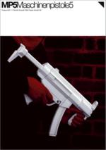 MP5 : Paper Gun Model Kit - Ferguson Posteler