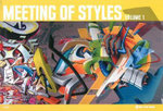Meeting Of Styles : How to Journal Creatively With Color and Compositi... - Manuel Gerullis