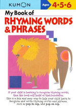My Book of Rhyming Words and Phrases - Kumon Publishing