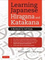 Learning Japanese Hiragana and Katakana : A Workbook for Self-Study - Kenneth G. Henshall
