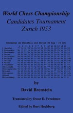 World Chess Championship Candidates Tournament Zurich 1953 - David Bronstein