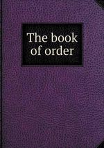 The Book of Order - Presbyterian Church of England