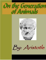 On the Generation of Animals -  Aristotle
