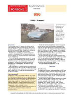 Porsche 996 Buying Guide - Chris Mellor