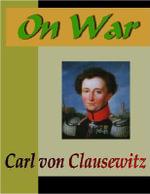 On War - Carl  von Clausewitz