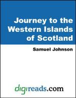 Journey to the Western Islands of Scotland - Samuel Johnson
