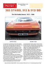 Ferrari 512 & 512i BB Buyers' Guide - Chris Mellor