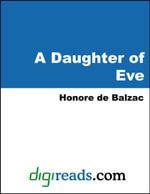A Daughter of Eve - Honore de Balzac