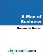A Man of Business - Honore de Balzac