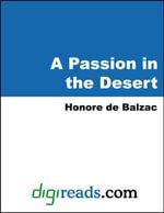 A Passion in the Desert - Honore de Balzac