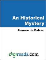 An Historical Mystery - Honore de Balzac