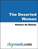 The Deserted Woman - Honore de Balzac