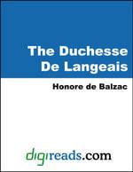 The Duchesse De Langeais - Honore de Balzac