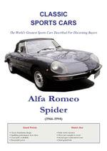 Alfa Romeo Spider Buyers Guide - Arthur Jameson