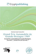 Grand Prix Automobile de Grande-Bretagne 1969