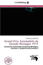 Grand Prix Automobile de Grande-Bretagne 1973