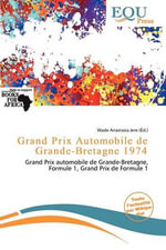 Grand Prix Automobile de Grande-Bretagne 1974