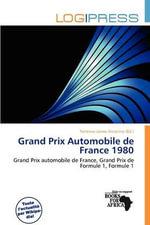 Grand Prix Automobile de France 1980