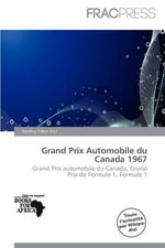 Grand Prix Automobile Du Canada 1967