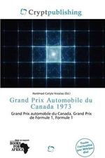 Grand Prix Automobile Du Canada 1973