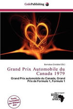 Grand Prix Automobile Du Canada 1979