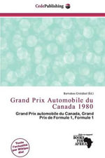 Grand Prix Automobile Du Canada 1980