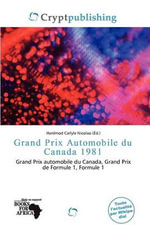 Grand Prix Automobile Du Canada 1981