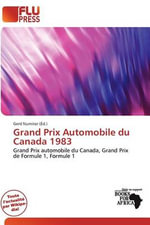 Grand Prix Automobile Du Canada 1983
