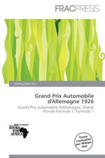 Grand Prix Automobile D'Allemagne 1926