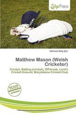 Matthew Mason (Welsh Cricketer)