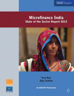 Microfinance India : State of the Sector Report 2013 - Tara Nair