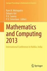 Mathematics and Computing 2013 : International Conference in Haldia, India
