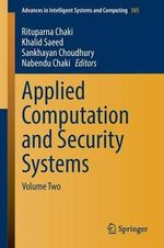 Applied Computation and Security Systems : Volume Two