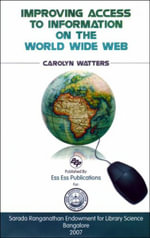 Improving Access to Information of the World Wide Web - Carolyn Watters