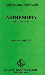 Homoeopathic Treatment of Asthenopia (Weak Eye Sight) : Narratives of Fugitive Slaves in Canada - George Hardy Clarke