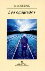 Los Emigrados - W G Sebald