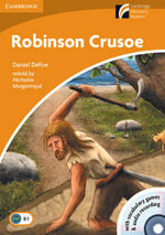 Robinson Crusoe   : Cambridge English Readers : Level 4 [With CD-ROM and CD (Audio)] - Daniel Defoe