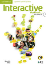 Interactive for Spanish Speakers Level 1 Workbook with Audio CD - Meredith Levy