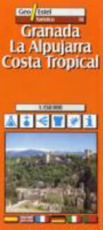 Granada, Alpujarras - Costa Tropical Tourist Map 1 : 150, 000 - Geo Estel