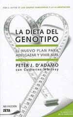 Dieta del Genotipo, La - Dr Peter J D'Adamo
