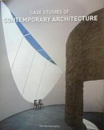 Case Studies of Contemporary Architecture - Alex Sanchez Vidiella