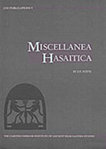 Miscellanea Hasaitica : Artifacts from the Eastern Province of Saudi Arabia - D. T. Potts