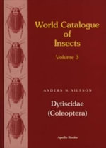 World Catalogue of Insects, Vol. 3 : Dytiscidae (Coleoptera) - Anders Nilsson