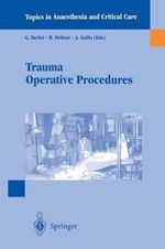 Trauma Operative Procedures