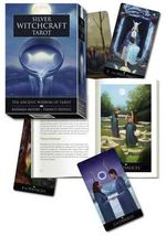 Silver Witchcraft Tarot Kit : Book and Card Set - Barbara Moore