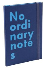Nava No Ordinary Notes A5 Blue - Nava Design