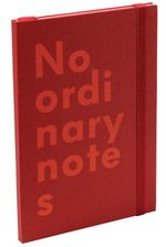 Nava No Ordinary Notes A5 Red - Nava Design