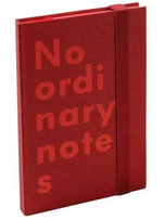 Nava No Ordinary Notes Pocket Red - Nava Design